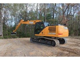 CASE Long Reach Excavators Add Increased Digging Capabilities to D Series Lineup