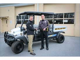 New Holland Rustler™ Utility Vehicle to Aid New Holland Police Department