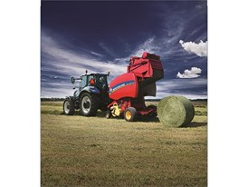 Roll-Belt Round Baler
