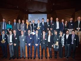 Iveco Madrid plant management team accepts Kaizen Institute Excellence Award