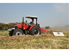 Farmall 90 JXM mowing in MEA markets