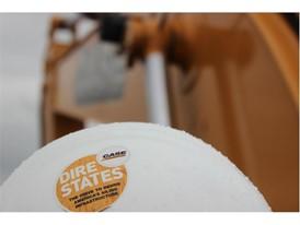 The CASE Dire States logo on helmet
