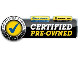 New Holland's Certified Pre-Owned Program:  Own it with Confidence. Work it with Pride.