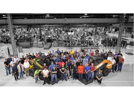 CNH Industrial employees at the Wichita construction equipment plant