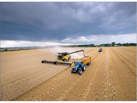 New Holland Agriculture harvested an impressive 797.656 tonnes of wheat in eight hours