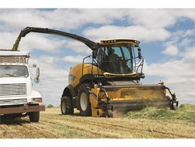 The 2016 New Holland FR Forage Cruiser self-propelled forage harvesters