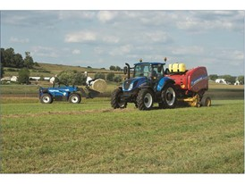 New Holland's T5 tractor series – the brand's key seller in the livestock, hay and utility markets