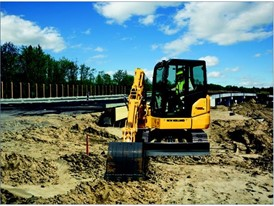 New Holland Construction E55BX Raises the Bar on Mini-Excavator Performance