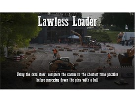 Behind the Wheel - The  Lawless Loader challenge at the CASE Rodeo