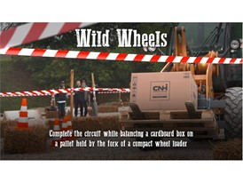 Behind the Wheel - The Wild Wheels Challenge at the CASE Rodeo