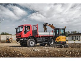 The CX26C mini excavator