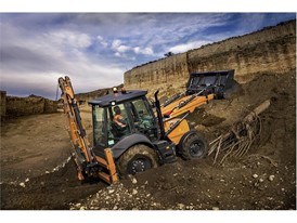 CASE Construction 580ST Backhoe Loader