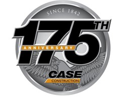 175th anniversary CASE logo