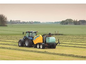 The Roll Baler 125 Combi is also part of the latest baler introductions