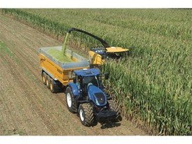 A new forage crop sensor was launched at LAMMA for use with New Holland's FR Forage Cruiser.