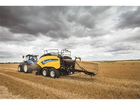 The BigBaler 1290 Plus is New Holland's new flagship square baler