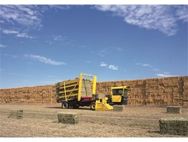 H9800 Series Stack Cruiser, Self Propelled Bale Wagon