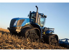 New T9 Series 4WD tractor on tracks