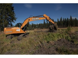 Central Machinery provided CASE CX130D and C210C heavy excavators