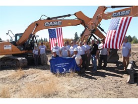 CASE Construction Equipment and Central Machinery provided equipment and product/training support to Team Rubicon