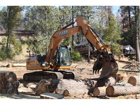 CASE and Sonsray Machinery provided two excavators—a CX160D and CX160C