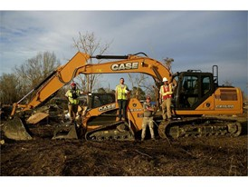 CASE dealer JWH Equipment supplied an excavator and compact track loader for Team Rubicon's Operation Iron Bird