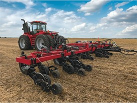 The Nutri-Placer 930 fertilizer applicator with new High-speed Low Disturbance (HSLD)