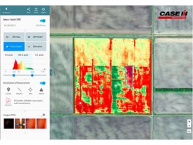 In collaboration with industry-leader DroneDeploy®, the new Case IH UAV package assists decision making.