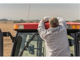 The new AccuStar GPS receiver can equip  late-model tractors or combines with guidance capabilities