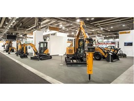 CASE Construction Equipment will debut its brand new range of C Series mini excavators
