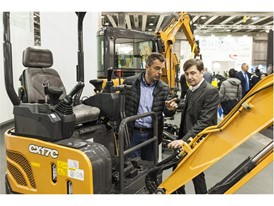 The new C Series is a technological landmark for the mini excavator market, including more features