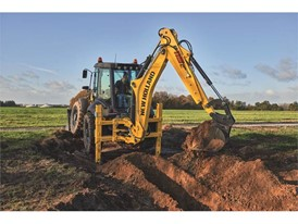 The latest New Holland Construction backhoe loader was unveiled at SIMA 2017
