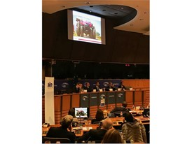 Case IH Autonomous Tractor Concept discussed at EU Parliament