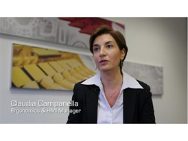 Claudia Campanella, Ergonomics & Human Machine Interface (HMI) Manager