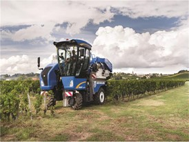 New Holland Self Propelled Grape Harvesters have reached the production milestone of 15,000