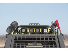 Team Rubicon Edition Skid Steer Roof Rack Rear