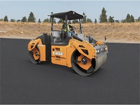 New DV209D and DV210D double drum asphalt rollers deliver reliable compaction performance