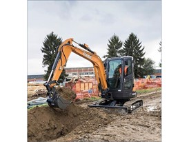 CASE Mini Excavator CX37C
