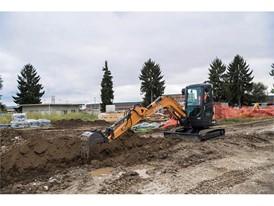 CASE Mini Excavator CX37C