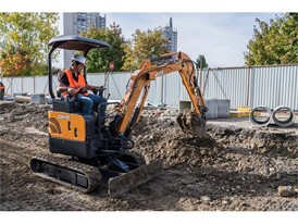 CASE Mini Excavator CX17C