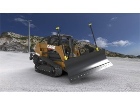 CASE DL 450 Fully Integrated Compact Dozer Loader Concept