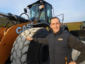 Alain de Nanteuil, CASE EMEA Wheel Loader Product Manager