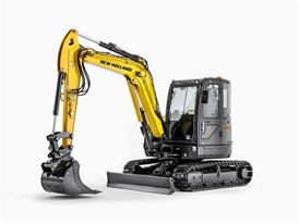 The new mini excavator series from New Holland Construction