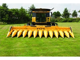 New Holland 12 Row Corn Header