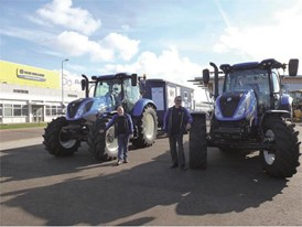 New Holland has provided new T6.145 and T6.180 tractors for the challenge