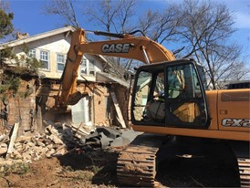 OCT Equipment Donates CTL and Excavator to Home Demolition for Korean War Veteran