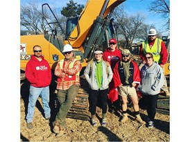 CASE Construction Equipment dealer OCT Equipment donated the use of a compact track loader and excavator to Team Rubicon