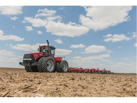 Tiger-Mate 255 field cultivator and Steiger 470