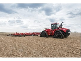 Steiger Rowtrac 420 and Tiger-Mate 255 field cultivator
