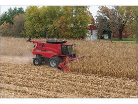7240 Axial Flow Combine working in corn